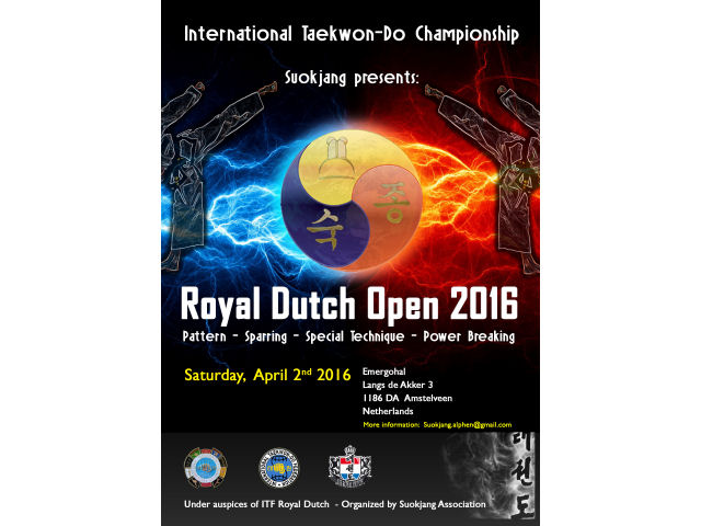 Royal Dutch Open 2016