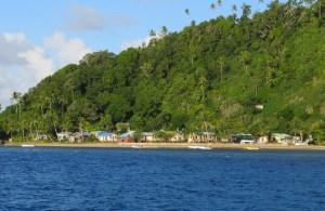 Village of Yanuca in Fiji