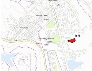 市原石川分譲地図