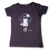 Mädchen-T-Shirt Camiseta - Hi Patty