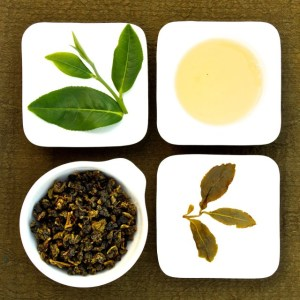The four states of Baguashan Four seasons Oolong Tea