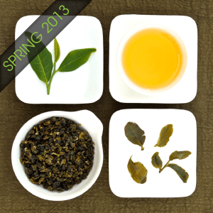 The four states of Organic Jade Oolong