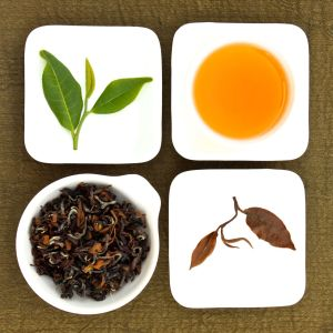 The four states of Premium Oriental Beauty Oolong Tea, Lot 122