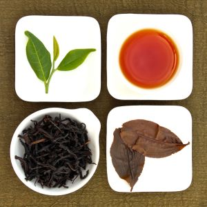The four states of Sun Moon Lake Assam Black Tea, Lot 125