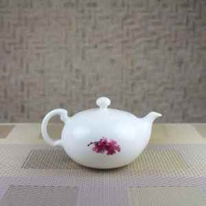 Sakura Teapot Side View
