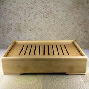 Larger Bamboo Tea Tray Feature View
