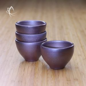 Wood Fired Bronze Everyday Tea Cup Featured View