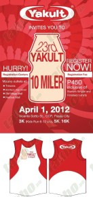 Yakult 10 Miler Run Results and Photos