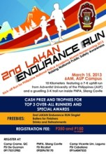 2nd Lakan Endurance Run 2013