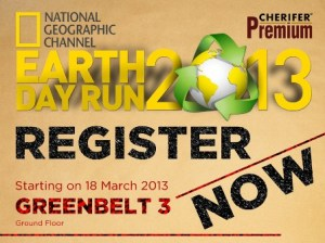 Nat Geo Earth Day Run 2013 Results