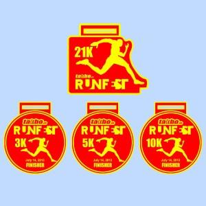 Runfest 2012 Medal Set