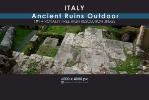 ITALY - Ancient Ruins (Outdoor)
