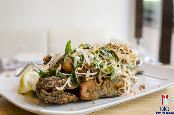 Thai Inspired Crispy Tilapia (P320). This was one of the dishes I ...