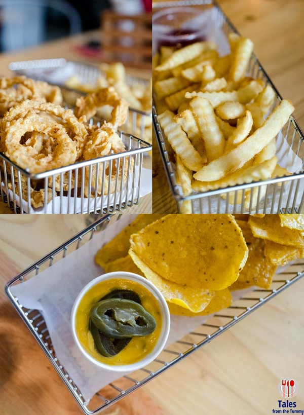 Off The Grid McKinley Hill Onion Rings Fries Nachos
