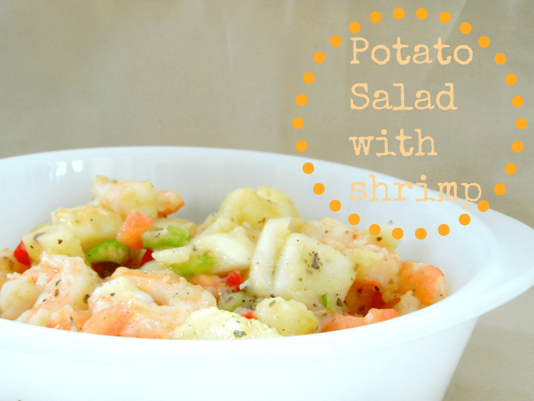 Potato Salad with Shrimp - Tales of a Ranting Ginger