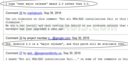 Google Code Android 2.3