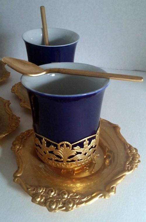 Medium Of Turkish Tea Set