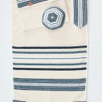 Tallit with Blue Stripes