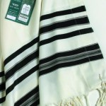 Traditional Black Tallit