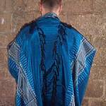 Gabrieli Handwoven Tallit - Blue and Gray