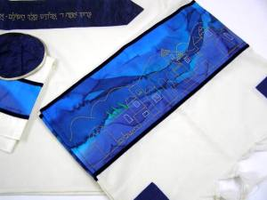 Jerusalem Tallit by Galilee Silks