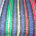 Close-up of striping