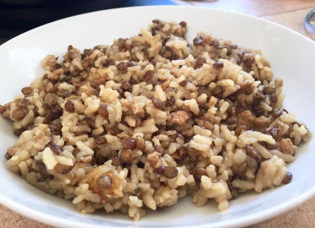 Riz aux lentilles et soja au rice cooker tambouille - Cuisiner avec un rice cooker ...