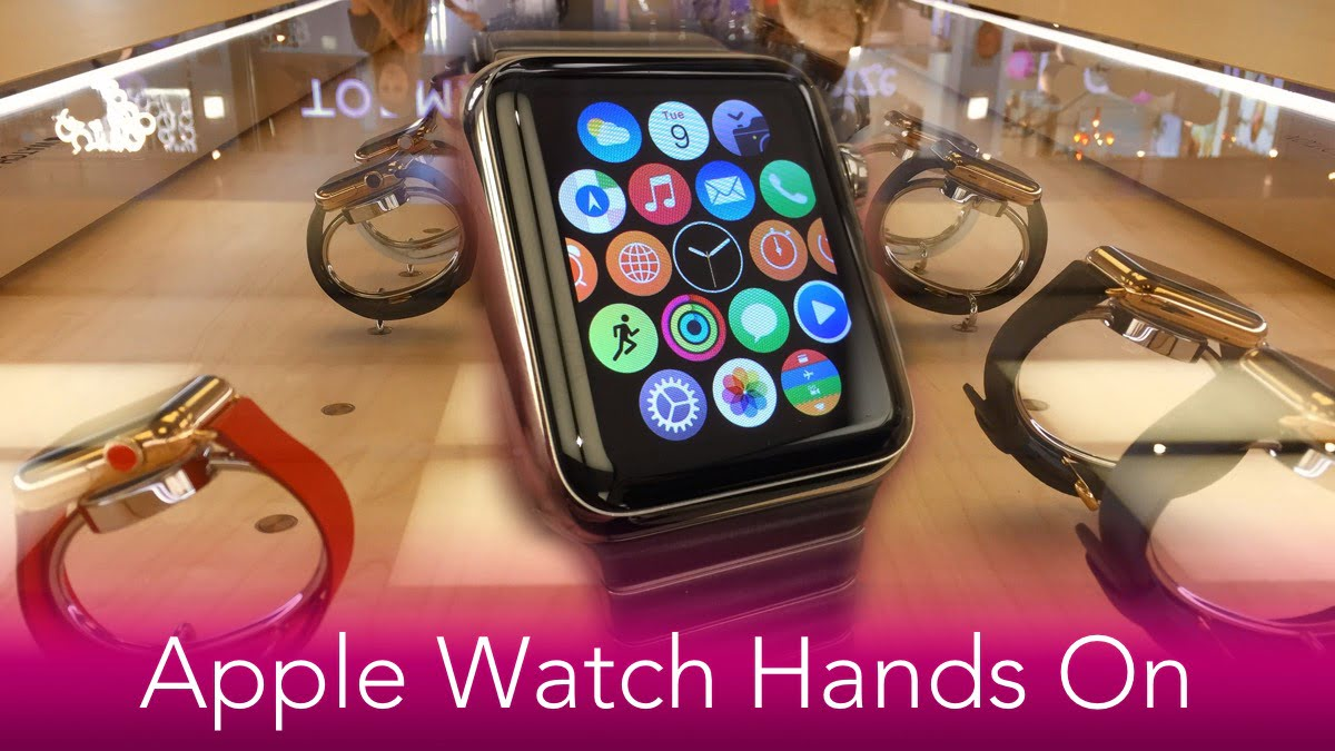 Apple Watch Hands On - smaller