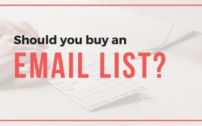 Should I Buy An Email List?