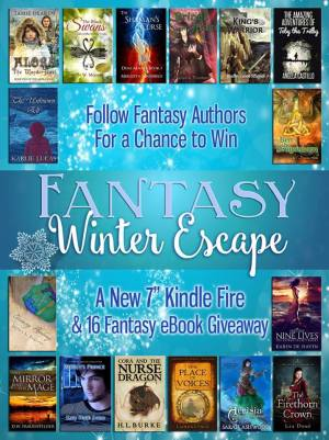 Win a KIndle Fire and sixteen Fantasy books
