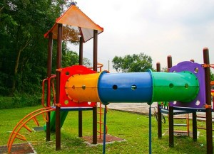 Image of a child friendly home playground