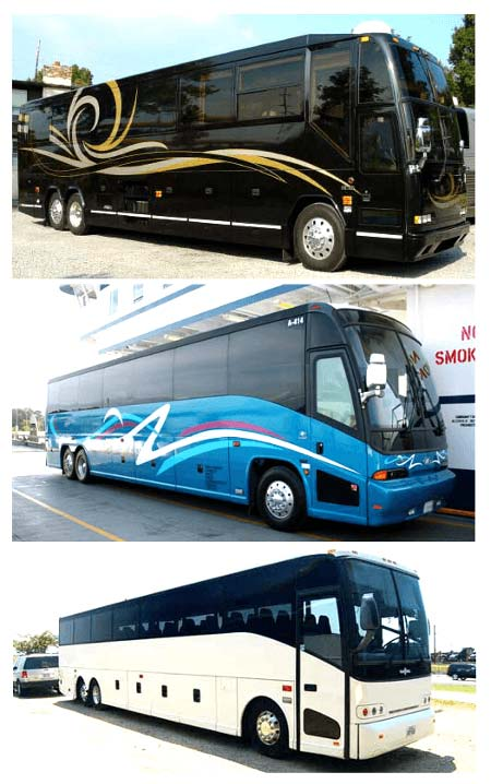 Best Charter Bus Oldsmar FL
