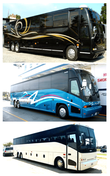 Charter Bus Safety Harbor FL