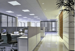 Electrical office lighting provided by Tane Electric. Request a free electrical quote from a qualified Electrician.