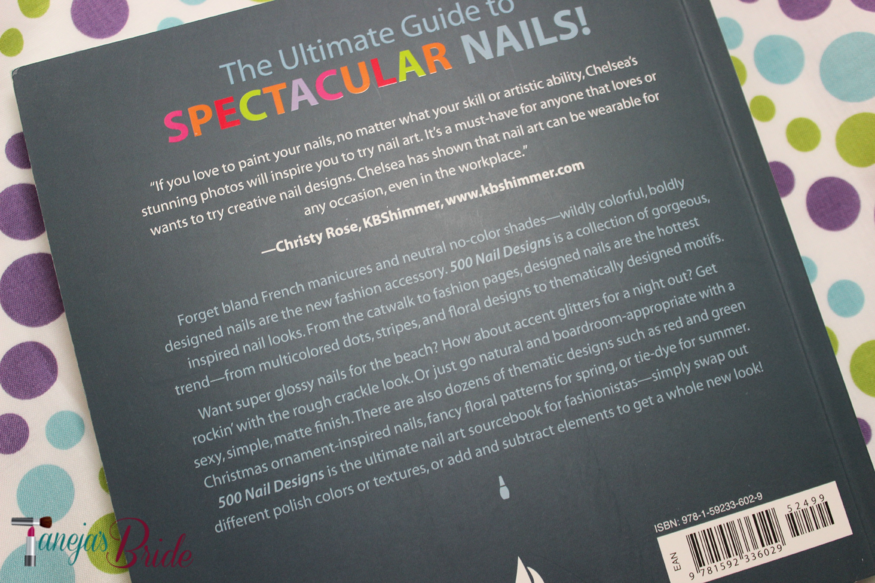 500 Nail Designs by Chelsea Franklin Book s Review