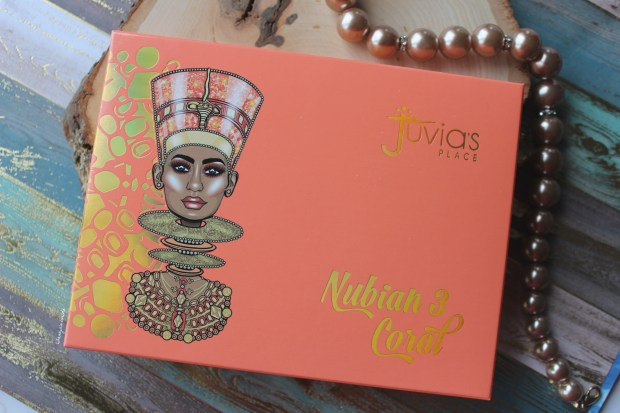 Juvia's Place Nubian 3 Coral Eyeshadow Palette is TOTALLY for Pantone 2019 Living Coral Lovers
