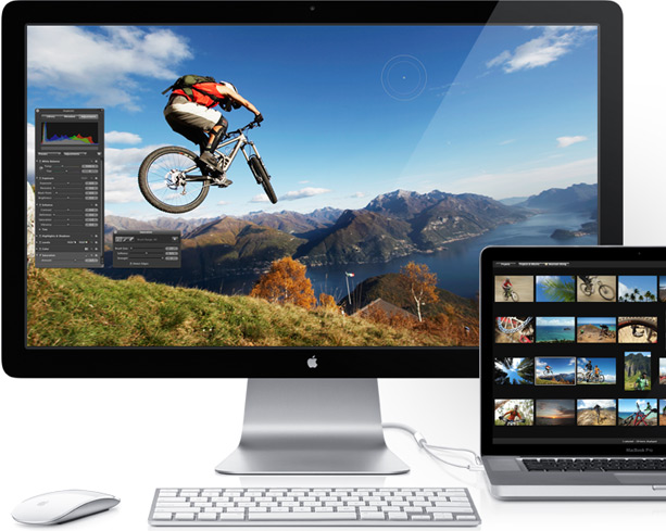 New 27″ Apple Thunderbolt Displays Now Shipping to Stores