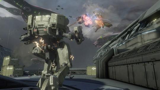 Halo 4 Mech