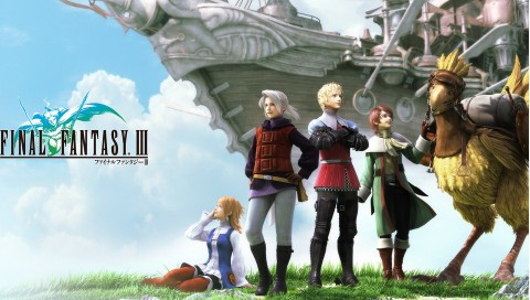 PS Vita Final Fantasy III Characters