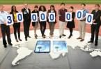 Galaxy SIII Reaches 30 Million in Sales