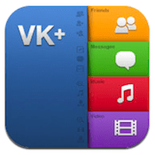 VK+ PRO Audio and Video Player iphone app