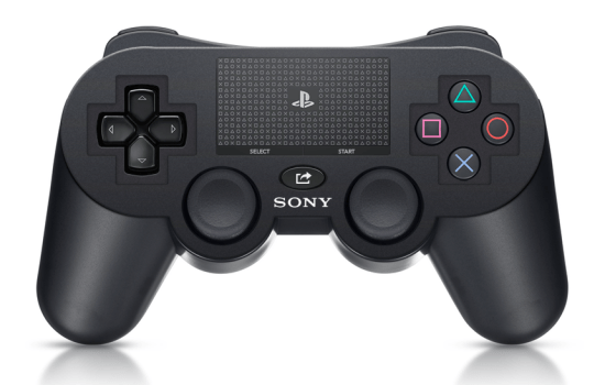 Playstation 4 controller mockup