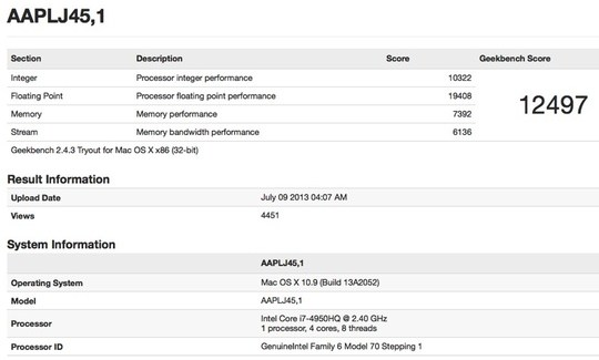 Haswell MacBook Pro Benchmarked, Fanbois Tremble