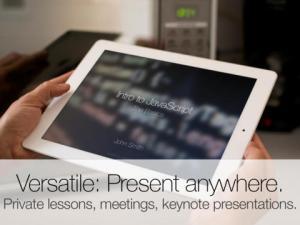 Presentics iPad App