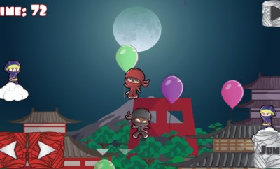 Balloons Ninja iphone app review