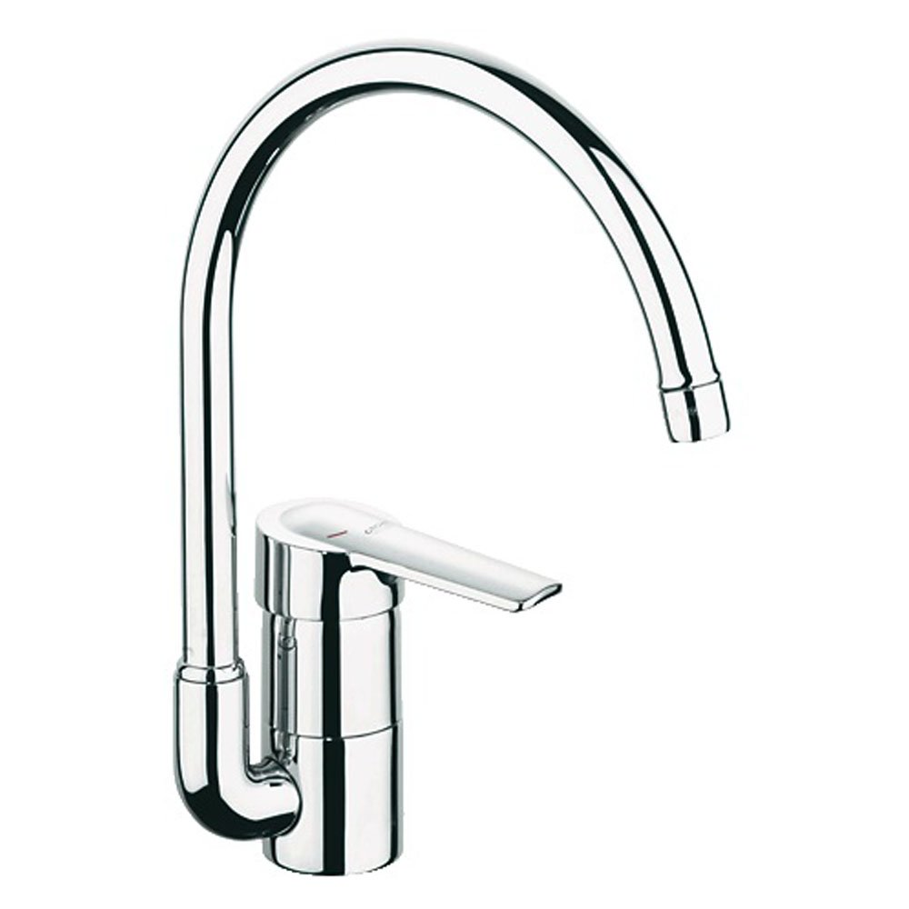 grohe eurostyle chrome kitchen sink mixer tap 33975000 p18139 82707 zoom