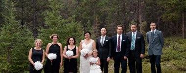 Town of Banff wedding- Elizabeth & Ron
