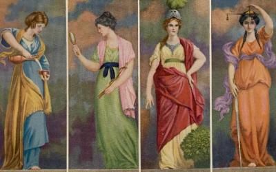 The Four Cardinal Virtues in Tarot