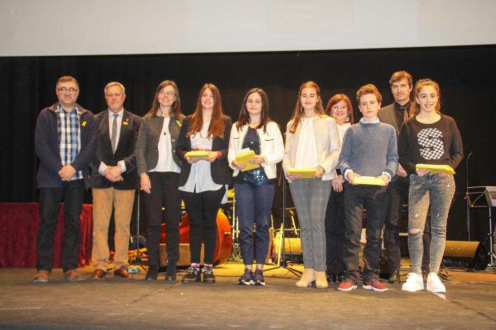 33è Premi Valeri Serra Bellpuig premiats categories Infantil i Juvenil