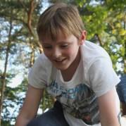 Tartan Boy Climbing